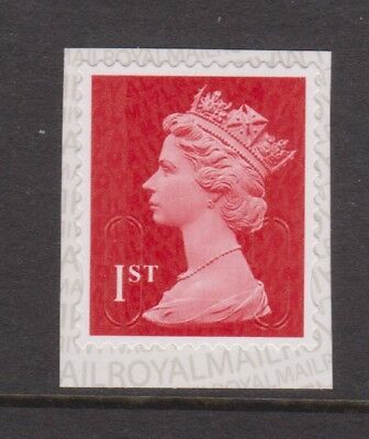 GB MNH MACHIN DEFINITIVE SG U3028 1st Class Deep Red MSIL M17L PB-Ls SPB2u