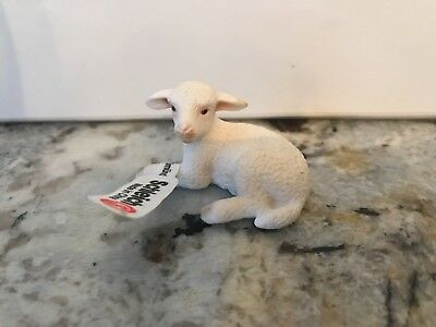 Schleich Baby Lamb Sheep RETIRED #13284 NWT