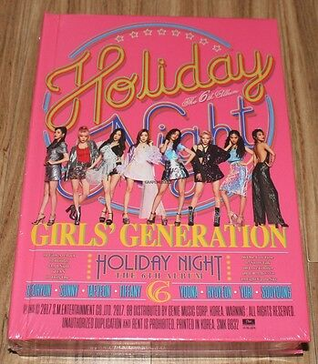 GIRLS' GENERATION 6TH ALBUM Holiday Night Holiday Ver. CD + FOLDED POSTER NEW