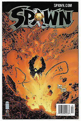Spawn #92 (February 2000, Image Comics) Capullo Art Low Print Newsstand Edition