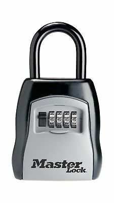 Master Lock Lock Box Set Your Own Combination Portable Key Safe 3-1/4 in. Wid...