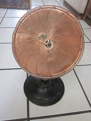 Antique Universal Copper Radiant Heater