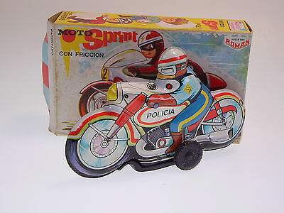 "GSMOTO, ROMAN  ""POLICIA"" MOTORRAD /MOTO, 14cm, NEU/NEW/NEUF IN VERY GOOD BOX !"