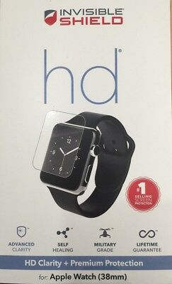 Zagg Invisible Shield HD Screen Protector Apple Watch Series 1 / 2 / 3 38mm TM