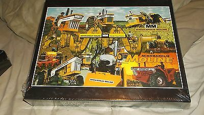 Minneapolis Moline World's Finest Tractors Puzzle MM New Free Shipping Lower 48