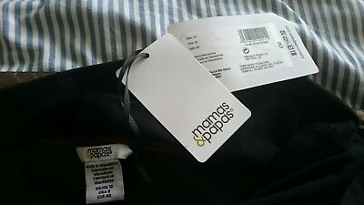 New with tags Mamas and Papas black pencil skirt maternity size 12