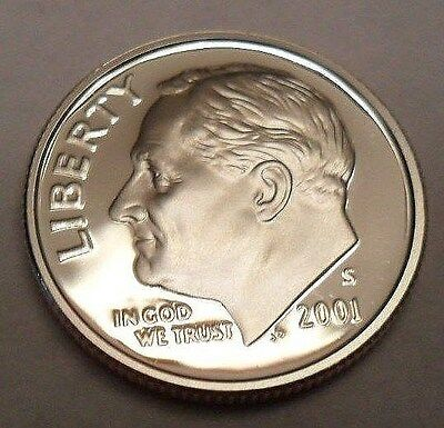 2001 S Roosevelt *PROOF* Dime  **FREE SHIPPING**