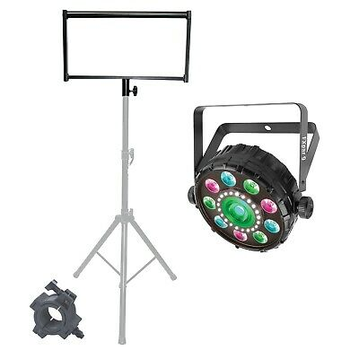 Chauvet DJ FXpar 9 Compact Multi Effect Par Light + Lighting Bracket + Clamp