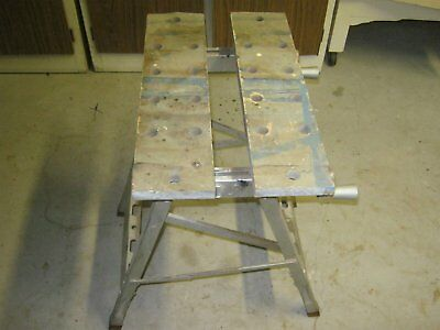 Foldable Work Bench & Vice Workmate. Bench vice.