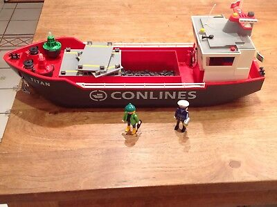 Playmobil Containerschiff-Conlines
