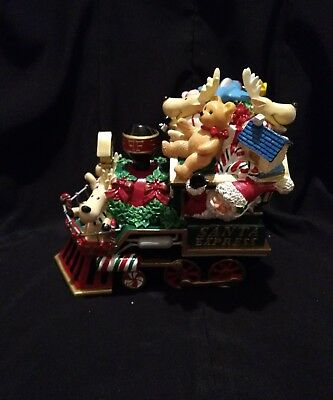 Fitz and Floyd Holiday Musical Collection, Santa Mobile, new in box,  2003