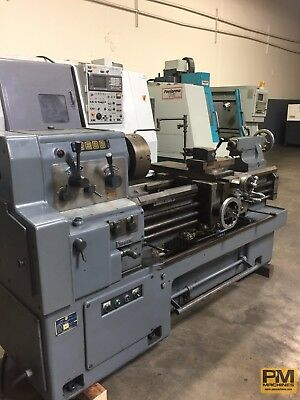 "Webb 17G40 Engine Lathe W/12"" Chuck,steady Rest,follow Rest,toolpost,5C Collet"