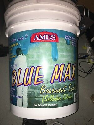 Ames 5-Gallon Blue Max Liquid Rubber Membrane Waterproofing Coating