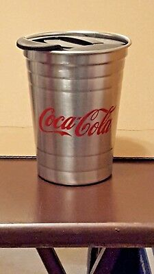 Coca-Cola 16oz Stainless Steel Travel Cup - NEW!