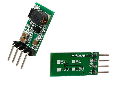 DC 3.3V 3.7V 5V 6V to 12V Step up Boost Power Supply Module For Arduino
