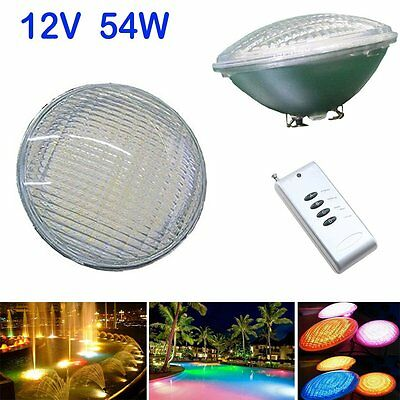 120V Color Changing 54w Replacement LED Swimming Pool Light Bulb for Pentair Hay