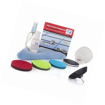 Glass Polish 28803 Glass Scratch Repair DIY kit, GP-WIZ System, Removes Scratche