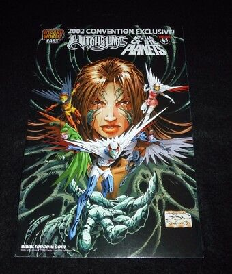 Witchblade convention exclusives lot of 2 from 2000, 2002,
