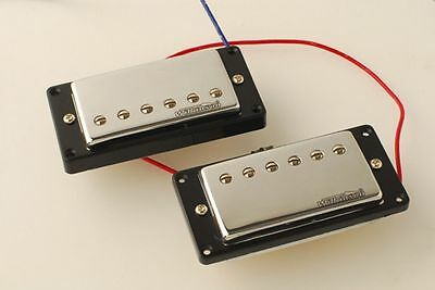 Wilkinson Covered Vintage PAF Classic WVCN/B Humbucker Pickups fits LesPaul SG