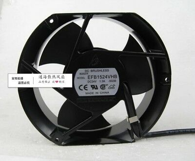 For Delta 17251 24V 1.3A EFB1524VHB inverter 3-leaf cooling fan axial fan
