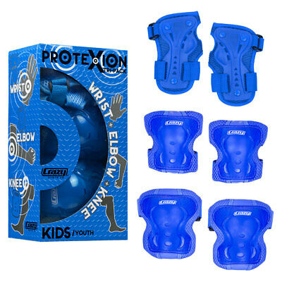 Crazy Skates™ Safety Pads Kids Boys Girls Protective  Knee Wrist Elbow Guards