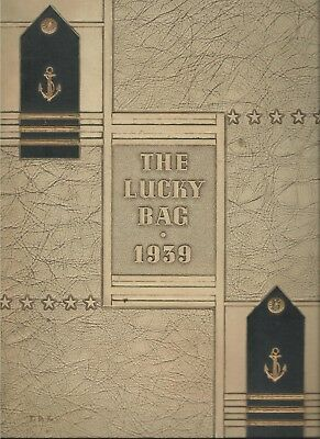 ☆* United States Naval Academy Lucky Bag Book Year Log 1939 *☆