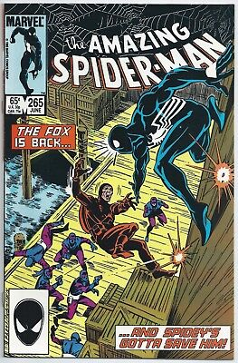 **amazing Spider-Man #265**jun 1985, Marvel**1St Print**1St App Silver Sable**vf