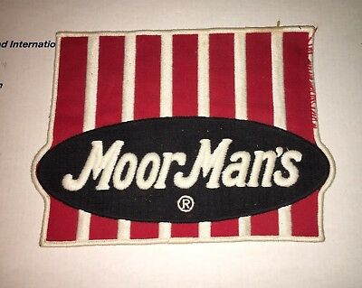 Large Vintage Moorman's Feed Coat or Jacket Patch