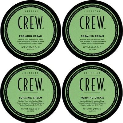 AMERICAN CREW FORMING CREAM 85g X 4 FREE SHIPPING