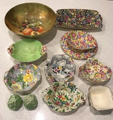 Royal Winton China Items Grimwades Fruit Bowl And Various Pieces