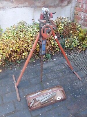 Record Bender No 219 Pipe Bender and attachments (484J)