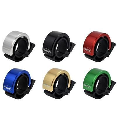 90db Invisible Discrete Bicycle Bell Aluminum Bike Handlebar 6 Colours Durable