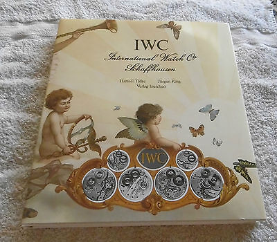 Buch book IWC International Watch Schaffhausen