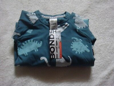 Bonds Zippy Wondersuit Dino Days Moss Bnwt Size 0