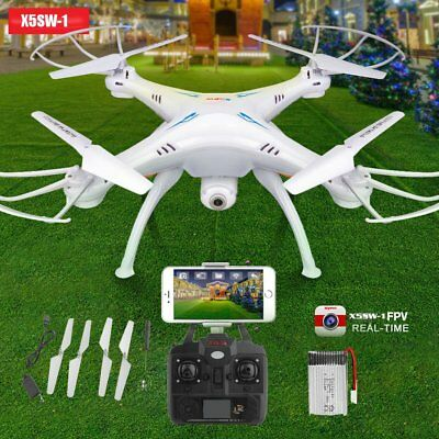 X5SW 2.4G RC Drone with WIFI HD Camera FPV Real Time RC Quadcopter Headless FB