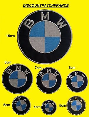 BMW 3cm 4cm 5cm 6cm 7cm 8cm 15cm. Patch écusson aufnäher embroidered patches.