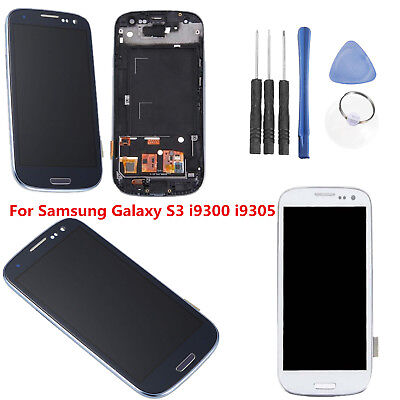 LCD Display Touch Screen Digitizer Tool Telaio Per Samsung Galaxy S3 i9300 i9305