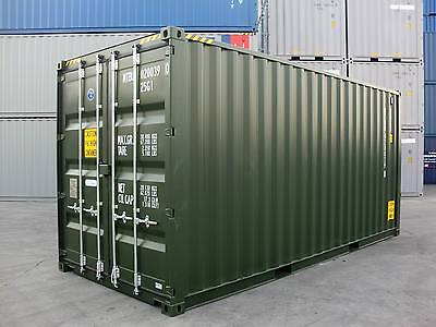 Shipping Containers 20 Foots High Cubes 2017 - Southampton Depot Latest Build