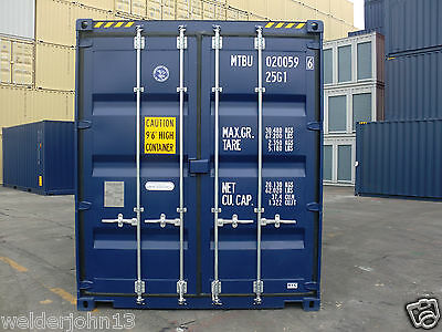 Shipping Containers 20 Foots High Cubes 2017 - Felixstowe Depot Call Me Now