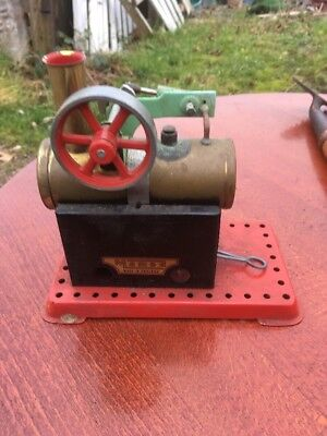 Vintage Mamod Steam Engine with Spirit Burner.
