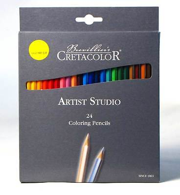 24 Artist Studio Colouring Pencils Cretacolor Smooth and rich colours Austria