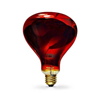Near Infrared Light Therapy RubyLux NIR-A Near Infrared Bulb 120V for USA