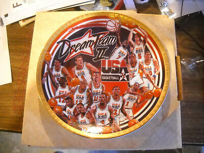 upper deck bradford michael jordan the comeback collectors plate coa bulls