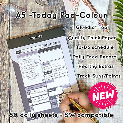 Food Meal Planner Journal  Compatible With Slimming World Tracker ANY Diet* BIWI