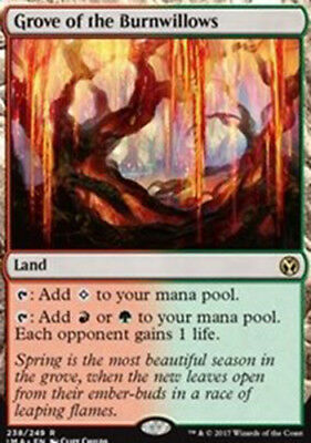 Grove of the Burnwillows - Iconic Masters M/NM