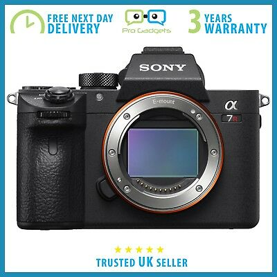 Sony Alpha A7R III 42MP 4K Fullframe Camera ILCE7RM3 Mark III - 3 Year Warranty