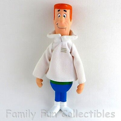 JETSONS~1990 Applause~Vinyl Doll~George~TV Cartoon Figure Toy~A~NEW NOS No Tags