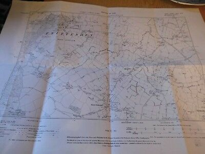 "FRITTENDEN,SISSINGHURST,BIDDENDEN,3 CHIMNEYS:KENT:6"" SCALE Planner Map 1867-1946"