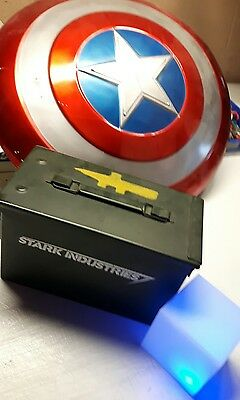 Stark Industries Movie Prop Real Ammo Case Army Tony Weapons Iron Man Marvel Toy