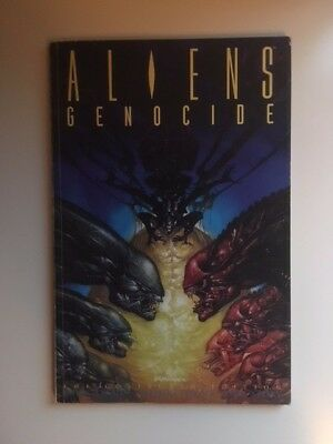 ALIENS Genocide (1992) Titan Books, The Collected Edition • Arcudi/Willis/Story